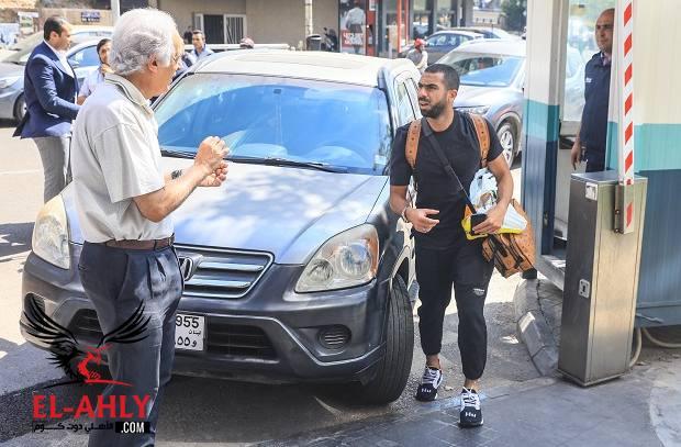 رسالة بيروت: أحمد فتحي ينضم للفريق وتخصيص مدرج كامل لجمهور الأهلي - الأهلي.كوم