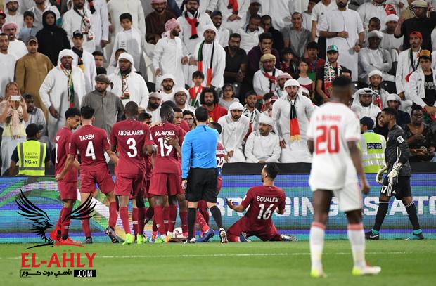 قطر تكتسح الإمارات برباعية نظيفة في نصف نهائي كأس آسيا - الأهلى . كوم